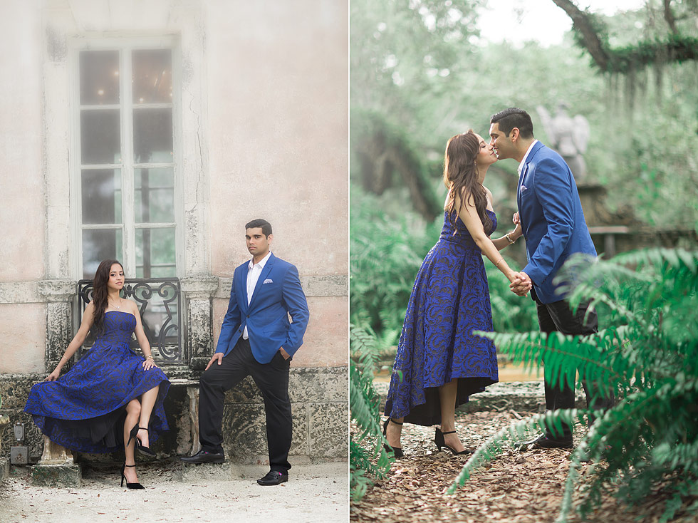 Vizcaya engagement photo Miami, Florida