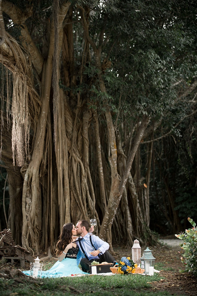 Deering Estate Engagement Session