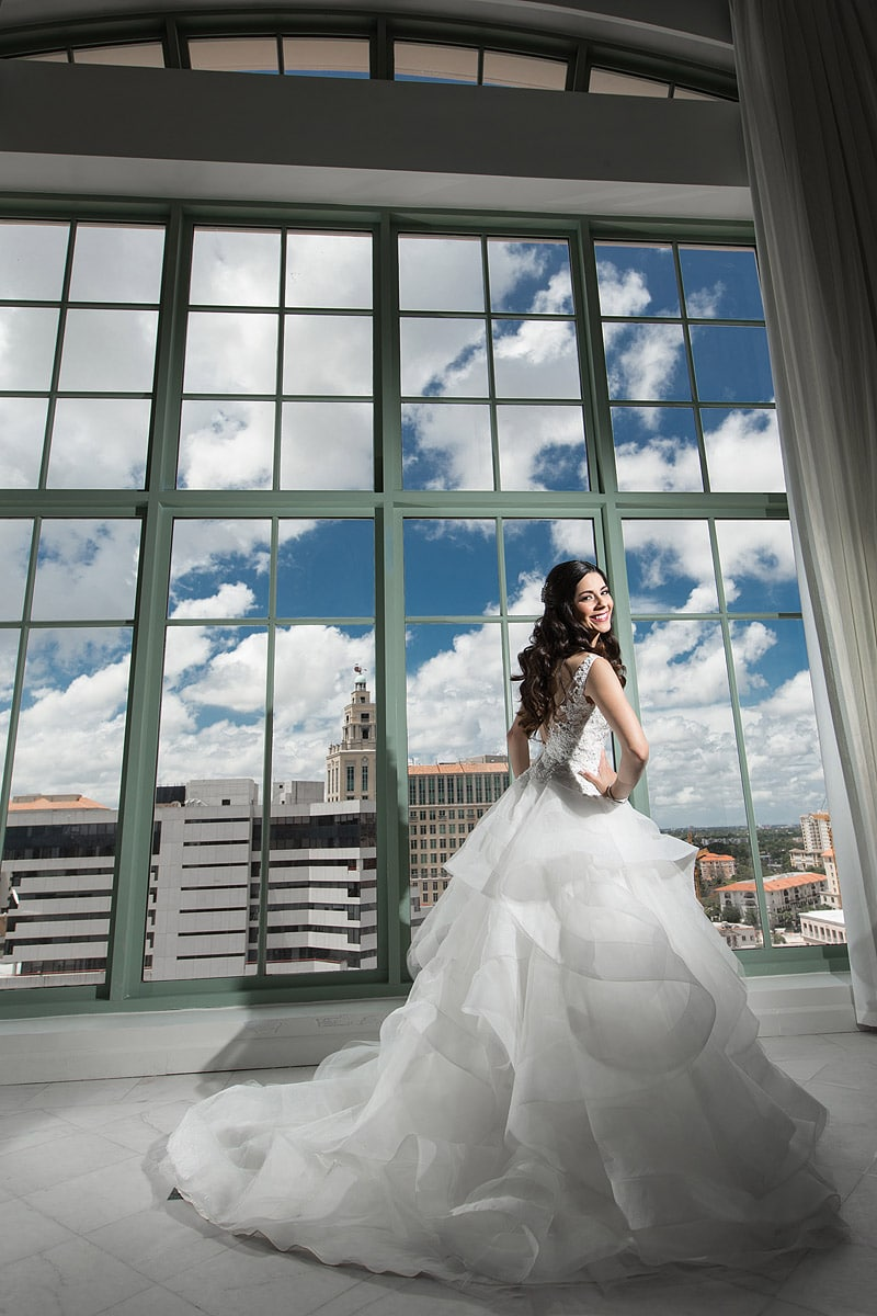 Westin Colonnade Wedding Photos