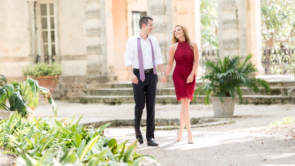 Vizcaya Engagement Sessions